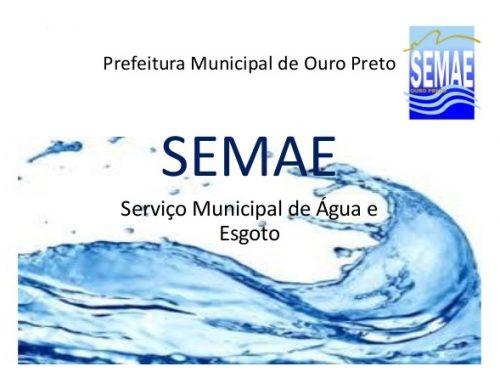 Comunicado: Descarga atmosférica causa interrupção do abastecimento em Santa Rita de Ouro Preto