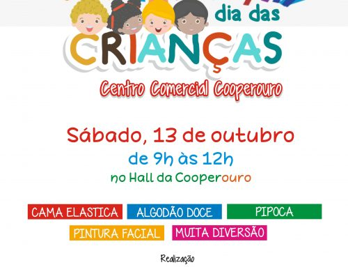 Participe do Dia das Crianças no Centro Comercial Cooperouro