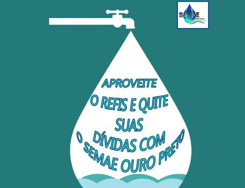 SEMAE estará com o REFIS em Cachoeira do Campo, distrito de Ouro Preto-MG