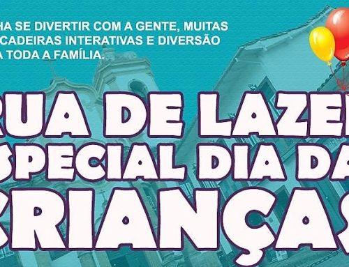 A maior loja de brinquedos da região estará aberta em horários especiais com Rua de Lazer para a criançada