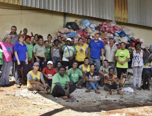 Diversas associações de catadores participam de 'Mutirão da Solidariedade' em Brumadinho – MG