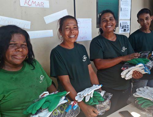 ACMAR recebe capacitação e doação de EPIs em Ouro Preto-MG